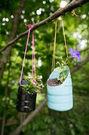 Diy Hanging Planters by Diy Hanging Planters Made From Recycled Bottles
