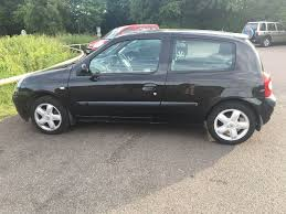 clio renault 2003 black renault clio 2003 1 2l 16v perfect first car in