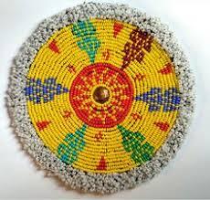 tribal beaded patch afghanistan gul beadwork 9 afghan tribal