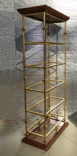 Gold Bookcase Furniture Home Fabric Lined Bookcase Makeover 2 Modern Elegant