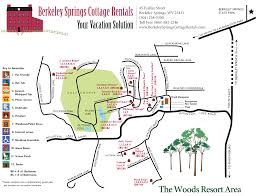 Virginia State Parks Map Berkeley Springs Cottage Rentals Wv Starry Nights