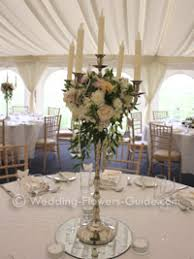 wedding candelabra centerpieces floral arrangement on candelabra search wedding