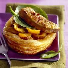cuisiner foie gras foies gras aux épices sur feuilletés d abricots cuisine
