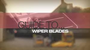 nissan almera wiper size help u0026 advice wiper blades buyers guide video