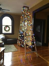 ladder christmas tree scarvey column conquering christmas tree conflicts