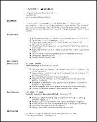 Individual Resume Free Contemporary Sports Coach Resume Template Resumenow