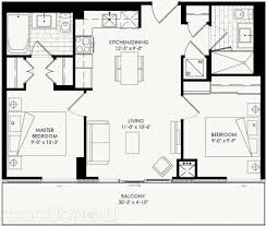 yorkdale floor plan the yorkdale condos by context cartier 1 floorplan 2 bed 2 bath