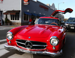 classic red mercedes red mercedes gullwing 1954 mercedes benz 300sl flickr