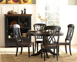 decorate small dining room stunning small round dining table decorating dark wood round