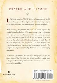 the prayer of the lord r c sproul hardcover book ligonier