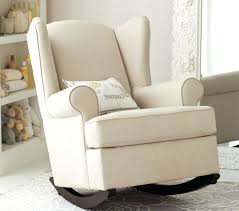 White Leather Accent Chair Accent Rocking Chairs Awesome Rocking Chairs Pads For Nursery