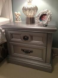 silver furniture my most talked about finish metallic painted