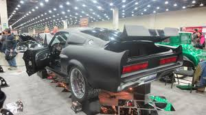 1968 ford mustang black 1968 ford mustang matte black at 2014 detroit autorama