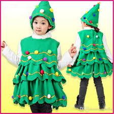 2017 christmas tree costume baby girls xmas clothing