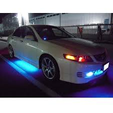 Led Strip For Car Interior Interior Led Car Lights White 4 Piece Flexible Strip Lights Inside