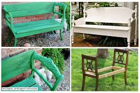 Outdoor Table And Bench Seats Garden Bench From Dining Chairs Diy Cozy Home