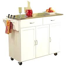 kitchen island cart with stainless steel top impressive kitchen island cart reviews ideas stainless steel top