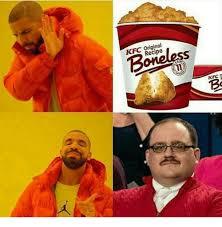 Memes Kfc - kfc original boneless recipe kfc kfc meme on me me
