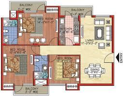 Sample House Floor Plans 3 Bedroom House Floor Plans India Nrtradiant Com