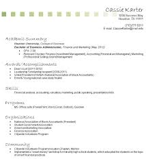 Resume With No Job Experience Template Resume With No Work Experience Sample Resume With No Work