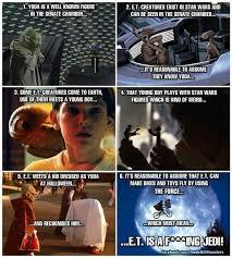 Et Is A Jedi Meme - et the jedi meme guy