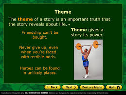 story themes about friendship what is theme theme recurring themes identifying the theme ppt