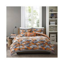 Camo Bedding Sets Queen Orange Bedding Sets U2013 Ease Bedding With Style