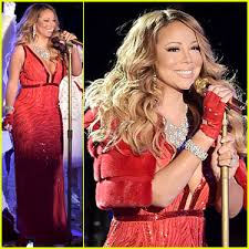 live rockefeller tree lighting mariah carey sings all i want for christmas is you live at