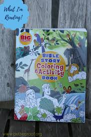 bible story coloring u0026 activity book be the proof