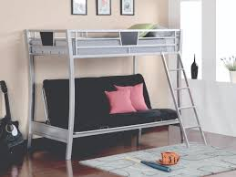 Twin Metal Loft Bed With Desk Santa Clara Furniture Store San Jose Furniture Store Sunnyvale