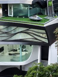 cadence architects sculpts fluid u0027elastica u0027 house in bangalore