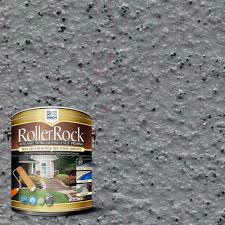 Patio Paint Home Depot by Daich Rollerrock 1 Gal Self Priming Lavarock Gray Exterior