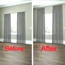 Curtain Hanging Ideas Ceiling To Floor Curtains Openpoll Me