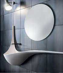 Powder Room Sink Modern Powder Room With Wall Mounted Sink U0026 High Ceiling Zillow