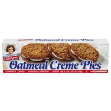 little debbie oatmeal creme pies 12 ct snacks 16 2 oz walmart com