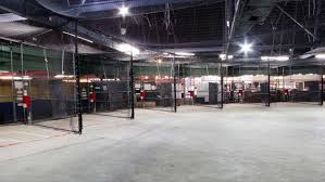 Basement Batting Cage by Batter Up Best Batting Cages In Nyc Long Island Cbs New York