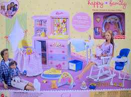 Baby Schlafzimmer Set Amazon Com Barbie Happy Family Nursery Playset 2002 Fisher Price