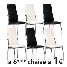 chaise pas cher lot de 6 lot de 6 chaises pas cher maison design hosnya com