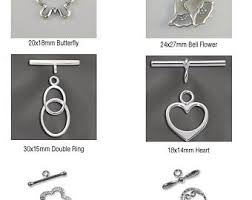 Toggle Clasps For Jewelry Making - toggle clasp jewelry etsy