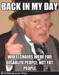 Disability Memes - fat wheeling fierce freethinking fatties