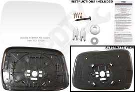 nissan accessories installation guides apdty 67622 side mirror replacement glass fits right 2000 2004
