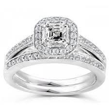 wedding ring bridal set plain ideas bridal set wedding rings bridal sets etsy wedding ideas