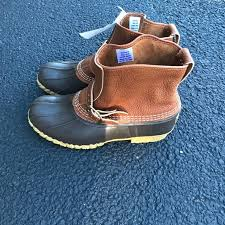 ll bean duck boots womens size 9 47 l l bean shoes authentic l l bean lounger boots