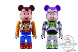 toy story 3 buzz u0026 woody bearbrick 2 pack medicom man