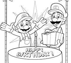 happy birthday coloring pages happy birthday coloring page with