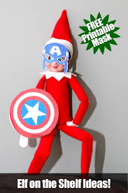 elf shelf captain america mask free mask