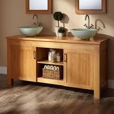 Double Vanity Cabinet Sinks Extraordinary Double Vanity Vessel Sinks Double Vanity