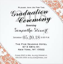 graduation invitation template graduation ceremony invitation graduation ceremony invitation and