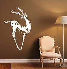 home interior deer picture buy deer wall decal deer antlers vinyl sticker housewares