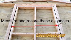 Plans To Build A Wooden Storage Shed by How To Build A Shed Door Youtube